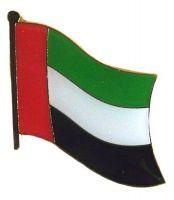 Flaggen Pin Vereinigte Arabische Emirate NEU Fahne Flagge Anstecknadel