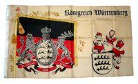 Fahne / Flagge Königreich Württemberg Standarte NEU 90 x 150 cm
