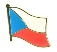 Flaggen Pin Tschechien