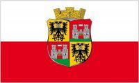 Fahne / Flagge Österreich - Wiener Neustadt 90 x 150 cm