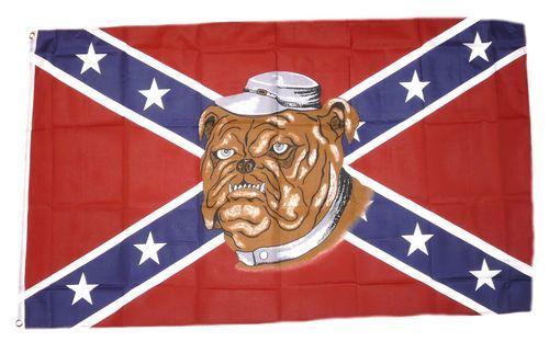 Fahne / Flagge Südstaaten - Bulldog 90 x 150 cm