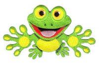 Aufnäher Patch Frosch
