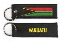 Fahnen Schlüsselanhänger Vanuatu