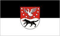 Fahne / Flagge Landkreis Prignitz 90 x 150 cm