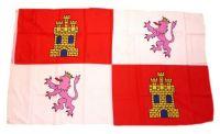 Fahne / Flagge Spanien - Kastilien Leon 90 x 150 cm