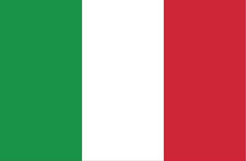 Fahnen Aufkleber Sticker Italien