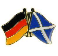 Fahnen Freundschaftspin Anstecker Schottland