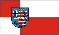 Fahne / Flagge Landkreis Marburg Biedenkopf 90 x 150 cm