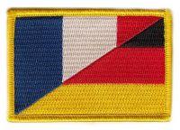 Fahnen Aufnäher Deutschland / Frankreich