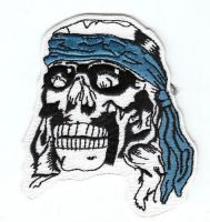 Aufnäher Patch Totenkopf / Skull 1