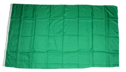 Fahne / Flagge Libyen grün NEU 90 x 150 cm Flaggen
