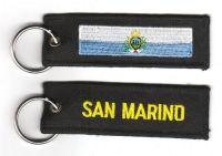 Fahnen Schlüsselanhänger San Marino