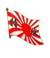 Fahnen Anstecker Pin Japan Kamikaze