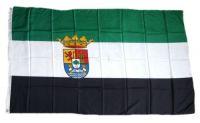 Fahne / Flagge Spanien - Extremadura 90 x 150 cm