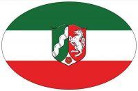 Wappen Aufkleber Sticker Nordrhein Westfalen