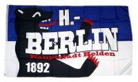 Fahne / Flagge Berlin Hauptstadthelden 90 x 150 cm