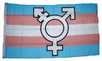 Fahne / Flagge Transgender Symbol 90 x 150 cm