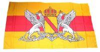 Fahne / Flagge Großherzogtum Baden 30 x 45 cm