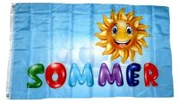 Fahne / Flagge Sommer Sonne 90 x 150 cm