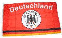 Fahne / Flagge Deutschland Fußball 1 90 x 150 cm