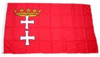Fahne / Flagge Danzig 90 x 150 cm