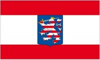Fahne / Flagge Großherzogtum Hessen 90 x 150 cm