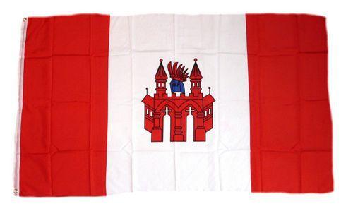 Flagge / Fahne Neubrandenburg Hissflagge 90 x 150 cm
