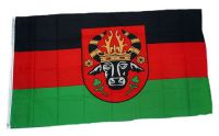 Flagge / Fahne Parchim Hissflagge 90 x 150 cm