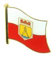 Flaggen Pin Fahne Cuxhaven Pins NEU Anstecknadel Flagge