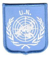 Wappen Aufnäher Fahne UNO