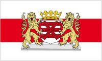 Fahne / Flagge Niederlande - Enschede 90 x 150 cm