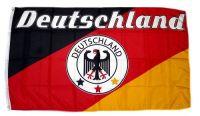 Fahne / Flagge Deutschland Fußball 11 90 x 150 cm