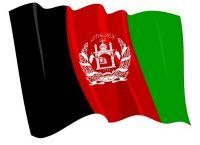 Fahnen Aufkleber Sticker Afghanistan wehend