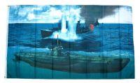 Fahne / Flagge U-Boot 90 x 150 cm