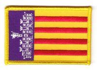 Fahnen Aufnäher Spanien - Mallorca