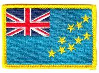 Fahnen Aufnäher Tuvalu