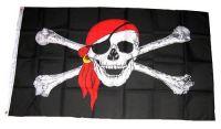 Fahne / Flagge Pirat Kopftuch 90 x 150 cm