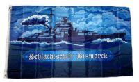 Fahne / Flagge Schlachtschiff Bismarck 90 x 150 cm