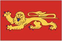 Fahnen Aufkleber Sticker Frankreich - Aquitanien