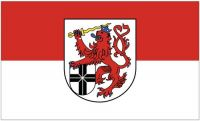 Fahne / Flagge Rhein Sieg Kreis 90 x 150 cm