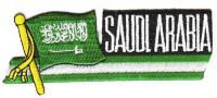 Fahnen Sidekick Aufnäher Saudi Arabien