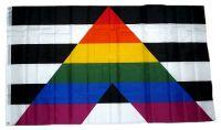 Fahne / Flagge Straight Ally 90 x 150 cm