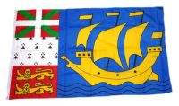 Fahne / Flagge Frankreich - St. Pierre und Miquelon 90 x 150 cm