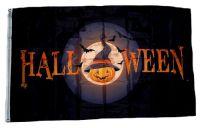 Fahne / Flagge Halloween Kürbis 90 x 150 cm