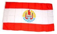 Fahne / Flagge Französisch Polynesien 90 x 150 cm