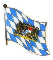 Flaggen Pin Freistaat Bayern Lowen Fahne Anstecknadel
