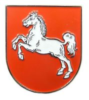 Pin Niedersachsen Wappen Anstecker NEU Anstecknadel