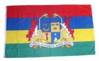 Flagge / Fahne Mauritius Wappen Hissflagge 90 x 150 cm