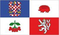 Fahne / Flagge Tschechien - Hochland 90 x 150 cm