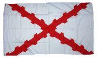 Fahne / Flagge Burgunderkreuz 90 x 150 cm